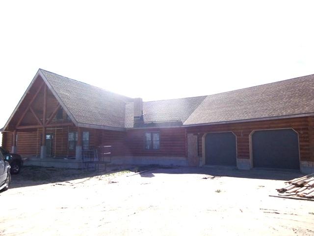 Exterior view of Central Nebraska home
